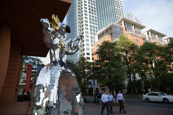 032 The Firebird stands 17 feet, 5 inches tall on South Tryon Street in Uptown_Photo courtesy of charlottesgotalot.com